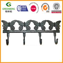 de hierro forjado de la mariposa decoración de la pared