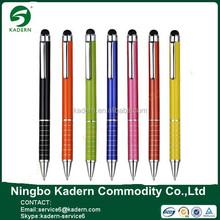 2015 All Kinds Of Colors Slim Mini Metal Stylus Ball Pen