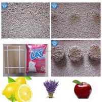 Easy scooping bentonite cat litter with antibacterial