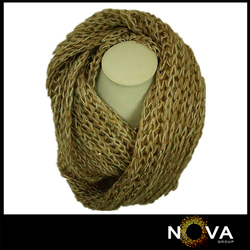 Hot sell diamond scarf girls drill neck warmer