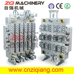 72 Cavities PET Preform Mold with Hot Runner System 250ton pet preform/food packing injection molding machine