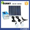 Environmentally friendly folding solar panel kit 50w
