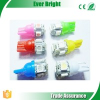 CE,ROHS. auto car light bulbs led interior lamp T10 5050 5SMD LED light bulb