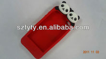 Featured panda case for iphone 4