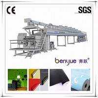 wallpaper sticker coating and laminating adhesive coating machine