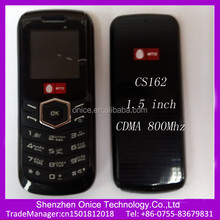 unlocked cheap cdma mobile phones CS162 cdma800Mhz handset wholesale price about 10USD