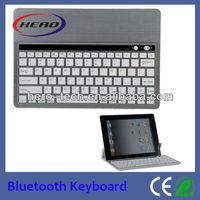 Ipad bluetooth keyboard/mini Aluminum bluetooth keyboard for android