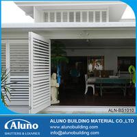 Aluminium Folding Exterior Shutters