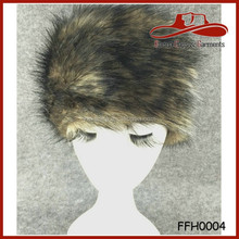 Grey Fox Cossak Russian Style Faux For Fur Hats Cossack Hat