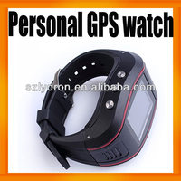 Newest Personal Wrist Watch tracker GPS/GSM/GPRS tracking system 850/900/1800/1900mhz working all over the world