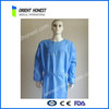 Hydrophobic material medical disposable non woven standard surgical gown