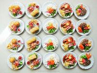 Dollhouse Miniature food Yummy Food Deco Scale 1:12
