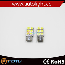 Canbus LED Interior Dome T10 wedge light bulb Sided 6 SMD 194 W5W 168
