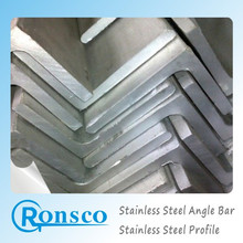 Nice section storage of 304 stainless steel angle bar trading