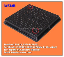 SMC water meter manhole cover,manhole cover plastic,watertight manhole cover