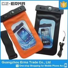 Compass Waterproof Swimming Armbands for Mobile Phone, Waterproof Phone Neck Lanyard Case for Samsung Galaxy S4