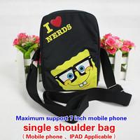 Tablet PC 7 inch large mobile phone Bag single shoulder bag Inclined shoulder bag Protective sleeve 0316 Custom made Order
