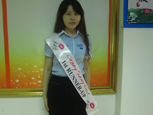 Custom printed wholesale pageant sashes