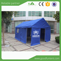 Fast delivery time and quality warranted tent for disaster