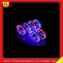 Sound Activated LED Bracelet Party Event Flashing Light Creative bracelet Promotional Gift Toy with Customized Logo bracelet