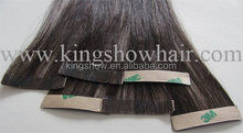 Wholesale factory cheap price blonde color Indian virgin human remy hair colorful hot sale factory price tape hair extensions