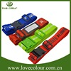 Durable safety promotional nylon luggage belt with plastic buckle