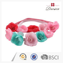 Fashion Design Colorful Light Elastic Crochet Headband