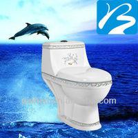 Ceramic Dual-flush Color Toilet Price