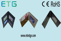 """4.3"""" Invitation LCD Video Greeting Card with Big Memory"""