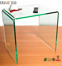 good quality factory price acrylic standing desk for laptop