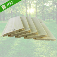 European PINEWOOD PANEL for house cladding