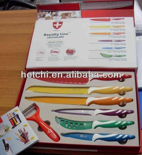 Royalty line switzerland non stick coating knife buy - Set de cuchillos royalty line ...