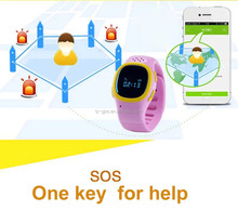 Child gps watch / GPS for Children with Two way communcation and sos button