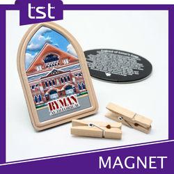 Customized 3D Image PVC Fridge Magnet