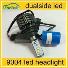 high lumen car led bulb 9004 led headlights dualside led headlight