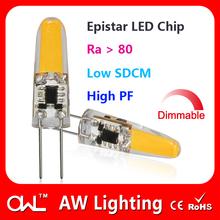 Alibaba express CE RoHS 360 degree G4 LED bulb 1.5W