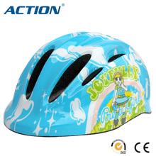 kid child playing bicycle bike roller skate helmet