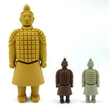 China Terra-Cotta Warriors customized design 32gb flash drive usb Wonders of the world