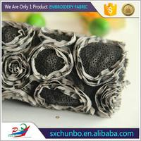 China Manufacturer Polyester African lace trim with cross for underwear