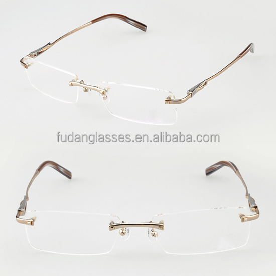 Rimless Glasses En Espanol : French New Model Eyewear Rimless Eyeglasses Frame 2015 ...