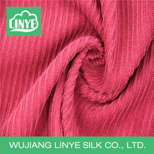 velvet polyester 11 wale corduroy upholstery fabric