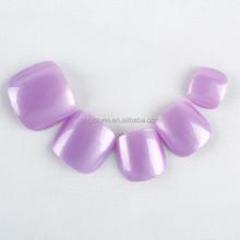 Summer Popular Dignity Light Purple color Toe Nail, Artifical Nail,Nail Art