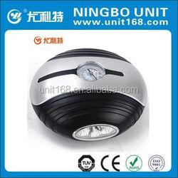 Car accessories,mini tire inflator,12v air compressor