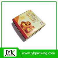 Customized Food Paper Box Egg Tart Packaging Box