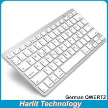 QWERTZ 2.4G Wireless Laptop Keyboard Ultra Slim Wireless 2.4G Keyboard German QWERTZ Laptop Desktop USB 2.4G Wireless Keyboard