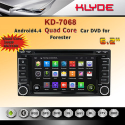 Car DVD Player GPS Navigation in Dash Car Radio Double 2 Din Bluetooth Car PC Stereo Head Unit for Subaru Forester/Impreza