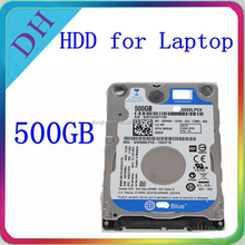"Superior hard drive for laptop, 2.5"" blue color internal hard drive 500GB"