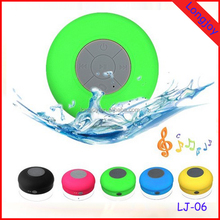 Factory Portable Mini Subwoofer Waterproof Shower Wireless Bluetooth Speaker Car Handsfree Receive Call Music Suction Phone Mic