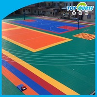 Best plastic indoor&outdoor sports floor tiles for sale