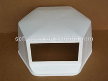 ABS/PMMA material vacuum forming cover/abs flame retardant